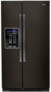 under counter side by side fridge freezer