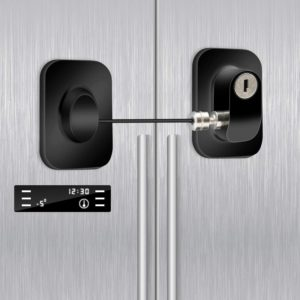 lock for fridge
