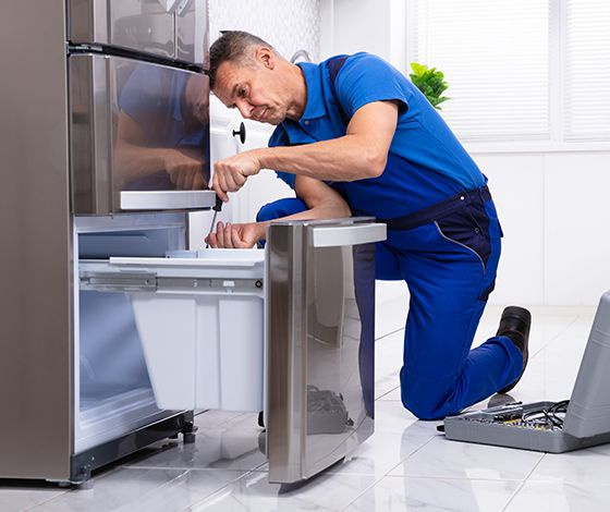 fixing buzzing noise from fridge