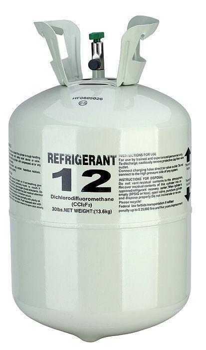 R-12 gas cylinder