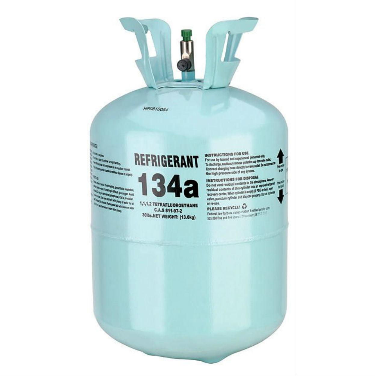 R-134a gas cylinder