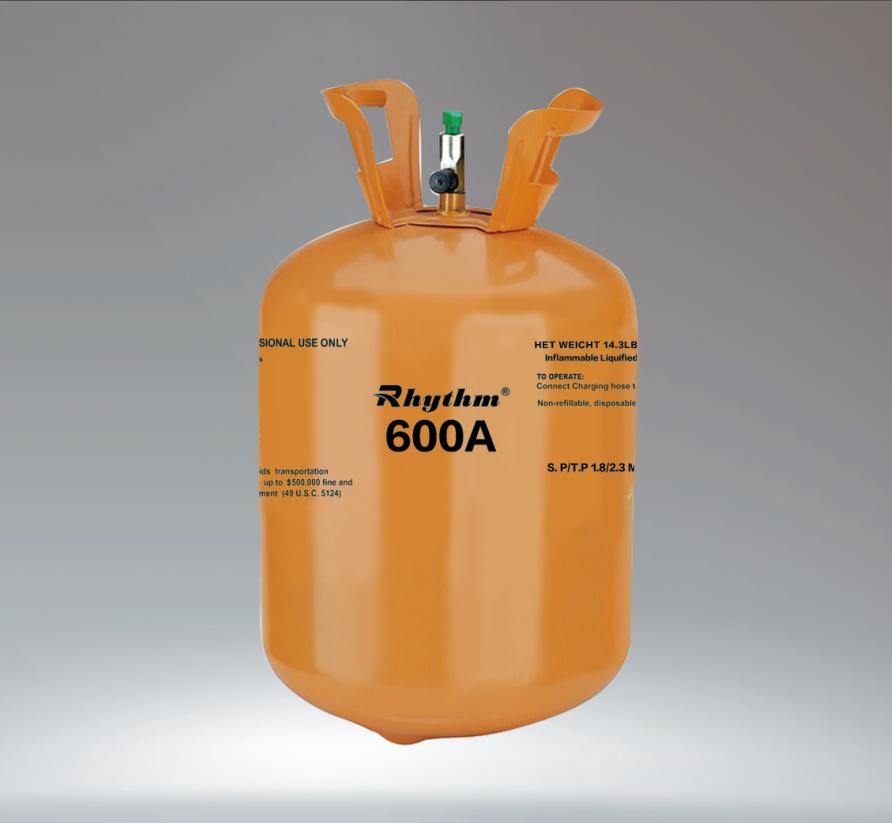 R-600a gas cylinder