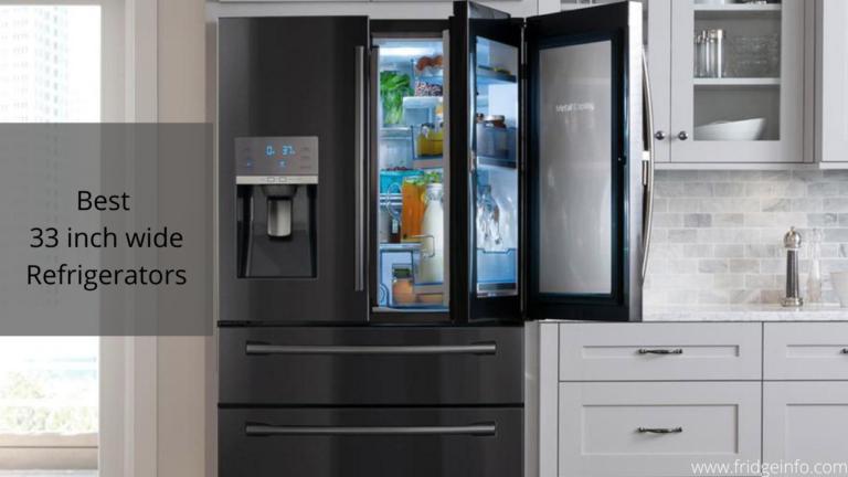 best 33 inch wide refrigerators