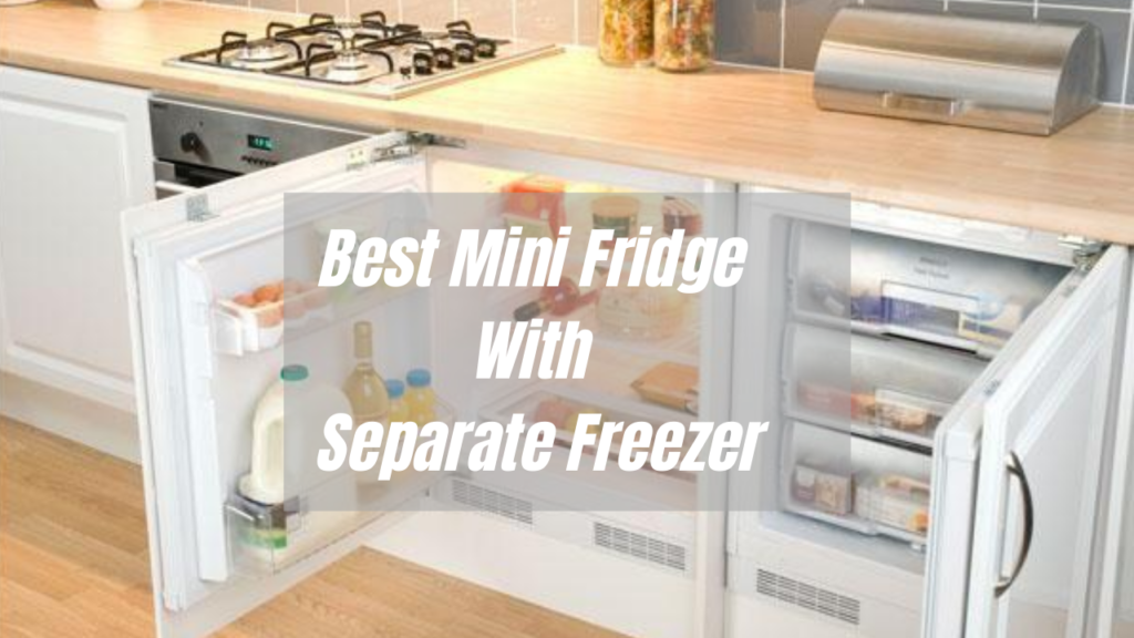 Eleven Mini Fridge with Separate Freezer [Reviewed 2020]