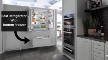 best refrigerators with bottom freezers
