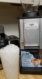 hard crushed ice