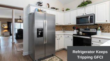 refrigerator keeps tripping gfci